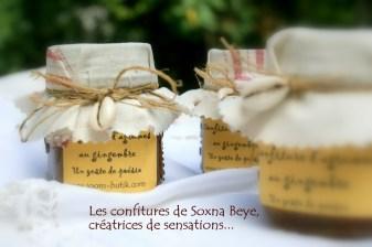 Les confitures Soxna Beye, créatrices de poésies