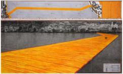 The Floating Piers, Project for Lake Iseo, Italy 2016