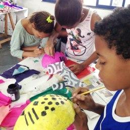 Bruno e a onça pintada.