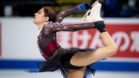 Evgenia Medvedeva © REUTERS / Dom Gagne