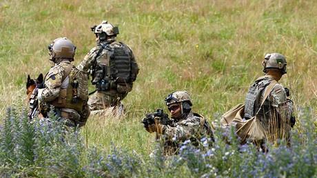 Members of German army Bundeswehr Special Forces Command (KSK) © Michaela Rehle