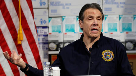 New York Governor Andrew Cuomo (file photo)