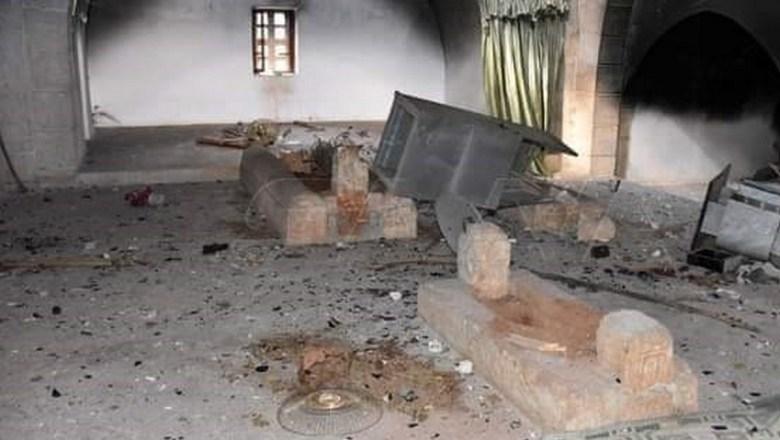 شام: دہشت گرد خلیفہ عمر بن عبدالعزیر کا جسد قبر سے نکال کر لے گئے