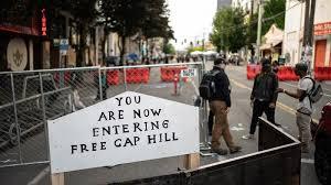 امریکہ کی ایک ریاست وفاق سے الگ ہوگئ: مظاہرین نے سیاٹل شہر کی خودمختاری کا اعلان کردیا