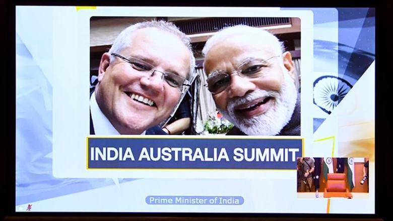انڈیا کا امریکہ کے بعد آسٹریلیا کے فوجی اڈے استعمال کرنے کے باہمی معاہدے پر دستخط