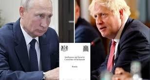 روس برطانیہ کے لیے سب سے بڑا خطرہ ہے : برطانوی انٹیلیجنس اور سکیورٹی کمیٹی