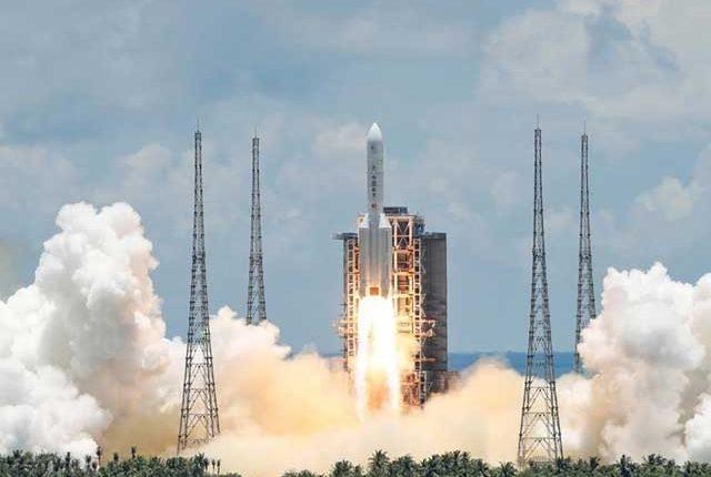 چین کا مریخ کے لیے پہلا آزاد تحقیقاتی مشن خلا میں روانہ ہو گیا