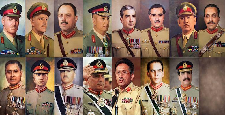 پاکستانی فوجی افسران کو حاصل مراعات اور اسکی تاریخ