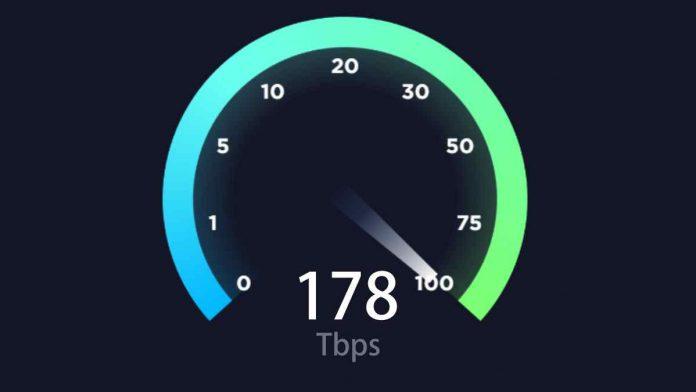 انٹرنیٹ رفتار کا نیا ریکارڈ قائم، فی سیکنڈ 178 ٹیرابائٹ