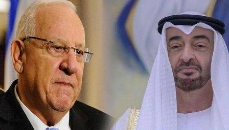 مقبوضہ فلسطین: صہیونی صدر کی امارات کے ولی عہد کو بیت المقدس کے دورے کی دعوت، اہم معاہدات کی تیاری، عمان کا بھی رابطہ