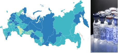 روس کی کورونا ویکسین کی تیاری اور کامیاب آزمائش کے بعد 85  صوبوں میں ترسیل کی مشق