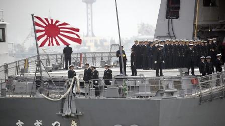 جاپان کا امریکہ اور فرانس کے ساتھ مل کر بحیرہ جنوبی چین میں بڑی جنگی مشقوں کا اعلان