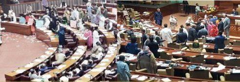 پاکستانی پارلیمان میں ناموس رسالتﷺ کے مسئلے پر دوسری بار فرانسیسی سفیر کو ملک بدر کرنے کی قرارداد پر رائے دہی مؤخر
