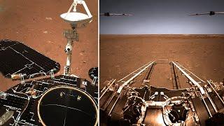 مریخ پر گئے چینی منصوبے نے تحقیق شروع کر دی: سرخ سیارے کی پہلی تصویر شائع