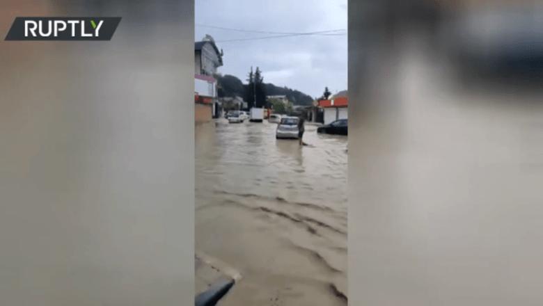سُوچی: طوفانی بارشوں کے باعث شہر ڈوب گیا، بڑے پیمانے پر تباہی