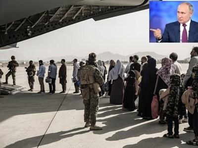 افغانستان میں بحران کا ذمہ دار صرف امریکہ ہے، امید ہے پوری دنیا کو اپنی اقدار دینے کا امریکی شوق پورا ہوگیا ہو گا، خطے میں انسانی المیے سے بچنا ہے تو دنیا کو مل کر فوری اقدامات کرنا ہوں گے: صدر پوتن