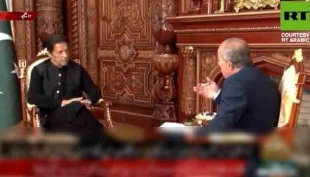 پاکستان نے افغانستان میں امریکی جنگ کا حصہ بن کر بڑی غلطی کی: وزیراعظم عمران خان کا رشیا ٹوڈے کو انٹرویو