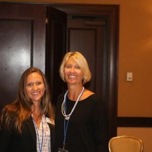 AAKP's Diana Clynes with FRAA President, Amy Kozsuch MSN, MBA, HCM, BSN