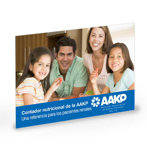 (DOWNLOAD) AAKP Nutrition Counter: A Reference For The Kidney Patient – Electronic Download (Spanish)