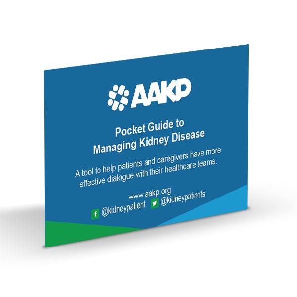 Download) Pocket Guide to Managing Kidney Disease – AAKP