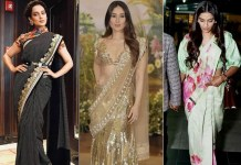 How to Look Stylish in Saree