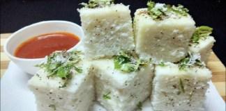 Rice Dhokla Recipe