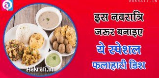 Navaratri Vrat Recipes
