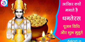 Dhanteras 2019 Shubh Muhurt