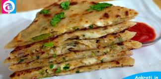 Aloo Cheese Paratha Recipe