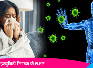 Symptoms of Weak Immune System