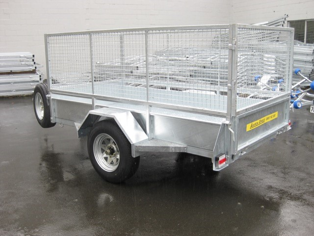 Single Axle Car Trailer