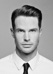 men's hairstyle - business professional