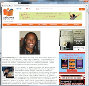 Eric Jerome Dickey on AALBC.com