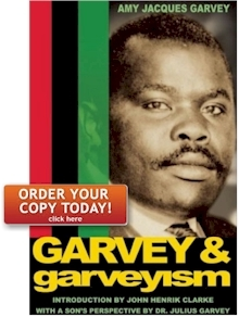 Order by Garvey & Garveyism by Amy Jacques Garvey