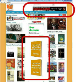 Promote Your Books with Large Book Cover Advertisement and Horizontal Ad Banners