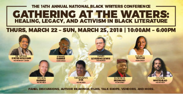 Honorees: Steven Barnes, Kwame Dawes, Tananarive Due, David Levering Lewis, Eugene B. Redmond, Susan L. Taylor, and Colson Whitehead