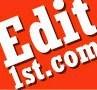 Edit 1st Manuscript Editing Service
