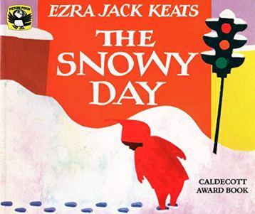 Book Cover Image, A Snowy Day by Ezra Jack Keats