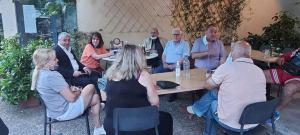 Συνάντηση της Κας Αλεξοπούλου με τους κατοίκους του Ηλιακού Χωριού και καταγραφή των προβλημάτων της περιοχής