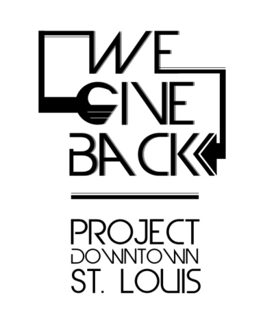We Give Back Project Downtown T-shirt Design
