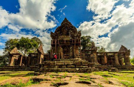 معبد prasat preah vihear