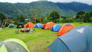 التخييم في جزيرة بالي