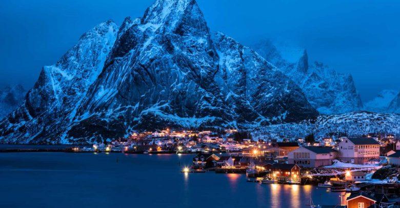 السياحة في الشتاء في النرويج