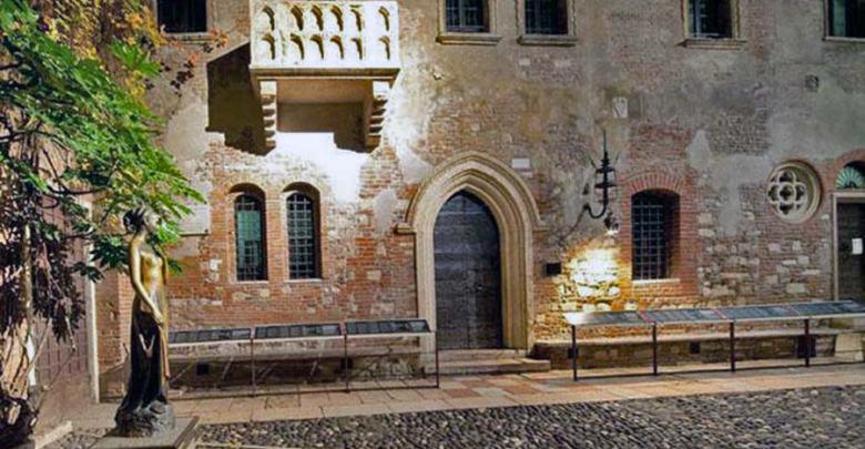 المعالم السياحية في مدينة فيرونا منزل روميو وجولييت