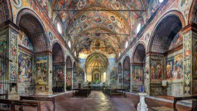 المعالم السياحية في مدينة ميلانو كنيسة سانتا ماريا ديل غراتسيا