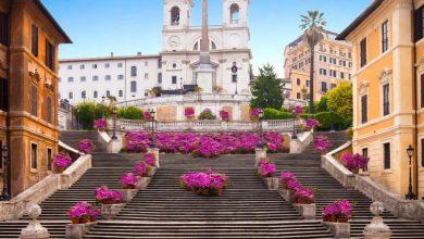 مدينة روما السلالم الإسبانية