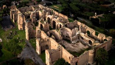 مدينة روما حمامات كركلا