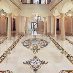 Grand Foyer Marble Mosaic Floor 901x1050 Aalto Marble Inlay