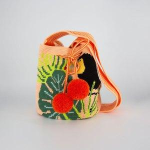 トウカン ミディアム ショルダーバッグ マルチカラー Toucan bucket bag