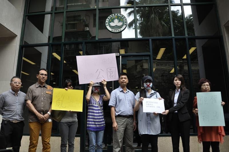 市民遞信反對休憩區改建加油站 : 論盡媒體 AllAboutMacau Media